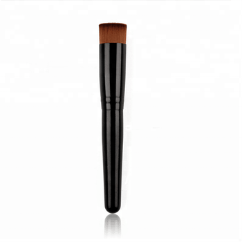 Private Label Accepted High Quality Straight Synthetic Hair Flat Top Kabuki Foundation Makeup Brush