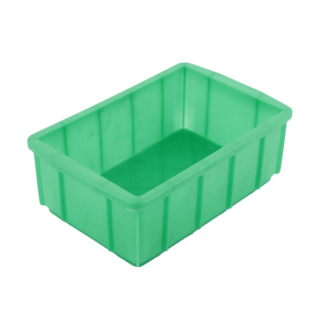 Aexit Green Plastic Tool Organizers Rectangular Electronic Components Storage Tool Boxes Box Case