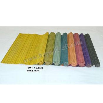 Bambus Tischsets In Vietnam Bunte Tischsets Aus Bambus Billige