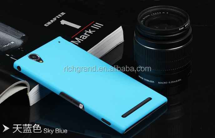 High Quality anti-fingerprint Cover case For Sony Xperia T2