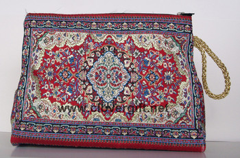 Turkish Rug Make Up Purse Cosmetic Bag Buy Bulk Cosmetic