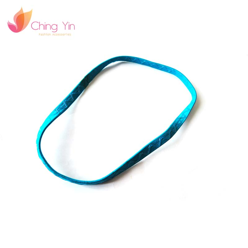 Modern fabric antique elastic head band hair tie for lady kids woman