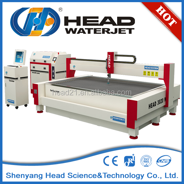 Gepolijst stone slab waterjet cutter stone slab waterstraal cutter machine