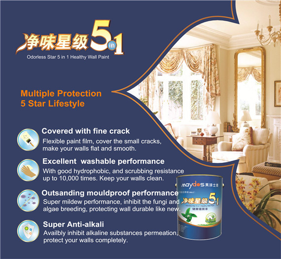 water resistant environmental protective wall latex emulsion paint. Black Bedroom Furniture Sets. Home Design Ideas