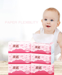 Pink Tissue Paper Facial Tissues