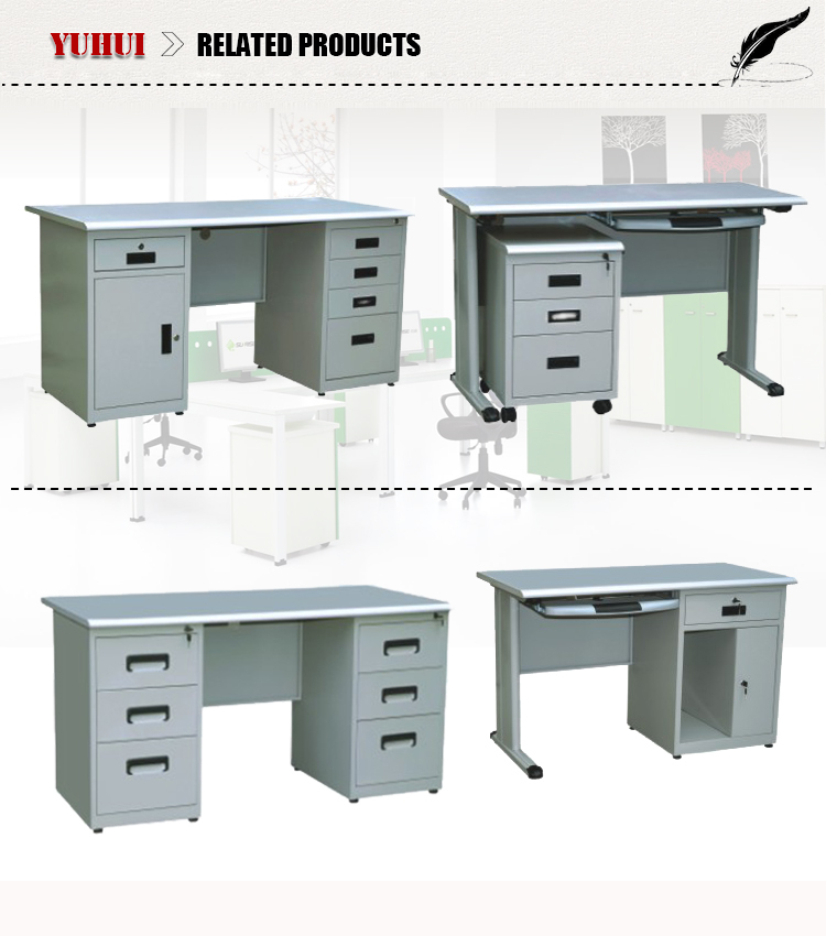 Light Grey Steel Cpu Storage Locking Drawers Office