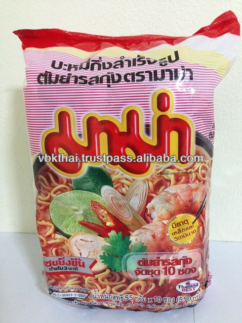 THAI INSTANT NOODLE WITH TOM YAM GOONG FAVOR