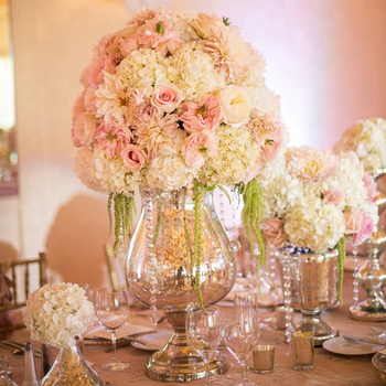 Super Star Romantic Table Centerpiece Homemade Flowers For Wedding