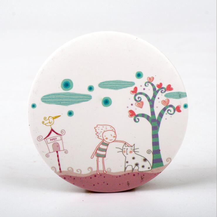 Customized tinplate mirror, pocket makeup mirror in nice price