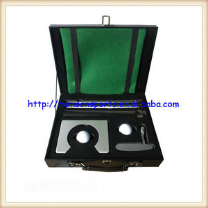 executive practice office mini golf set golf travel set putter cup balls