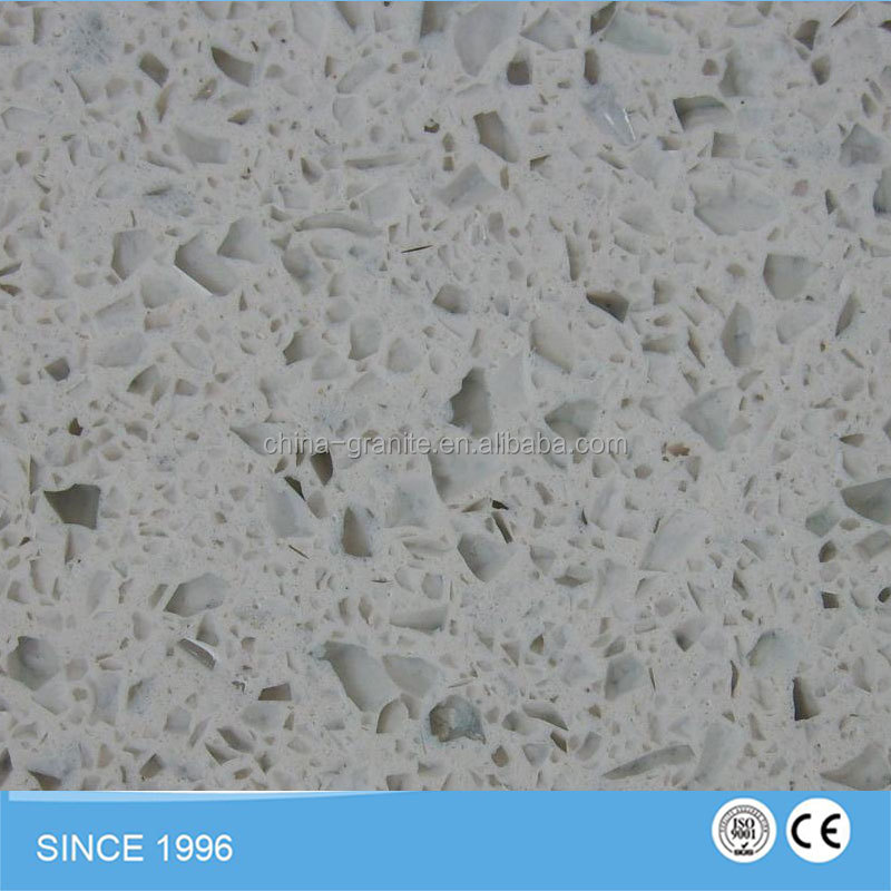 Slabs Countertops Sparkle White quartz, Artifical Quartz Stone Slabs
