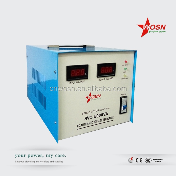Single phase Servo logicstat voltage stabilizer price 5kva
