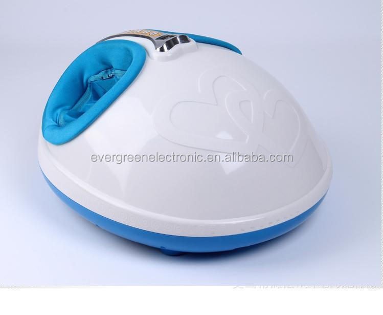 2015 New Cute Shape 3D Airbag Shiatsu Kneading Foot Massager With Heating And Timer