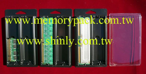 plastic box for memory ram module