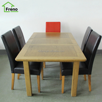 Oak Furniture Solid Wood Dining Table Extendable Oak Table