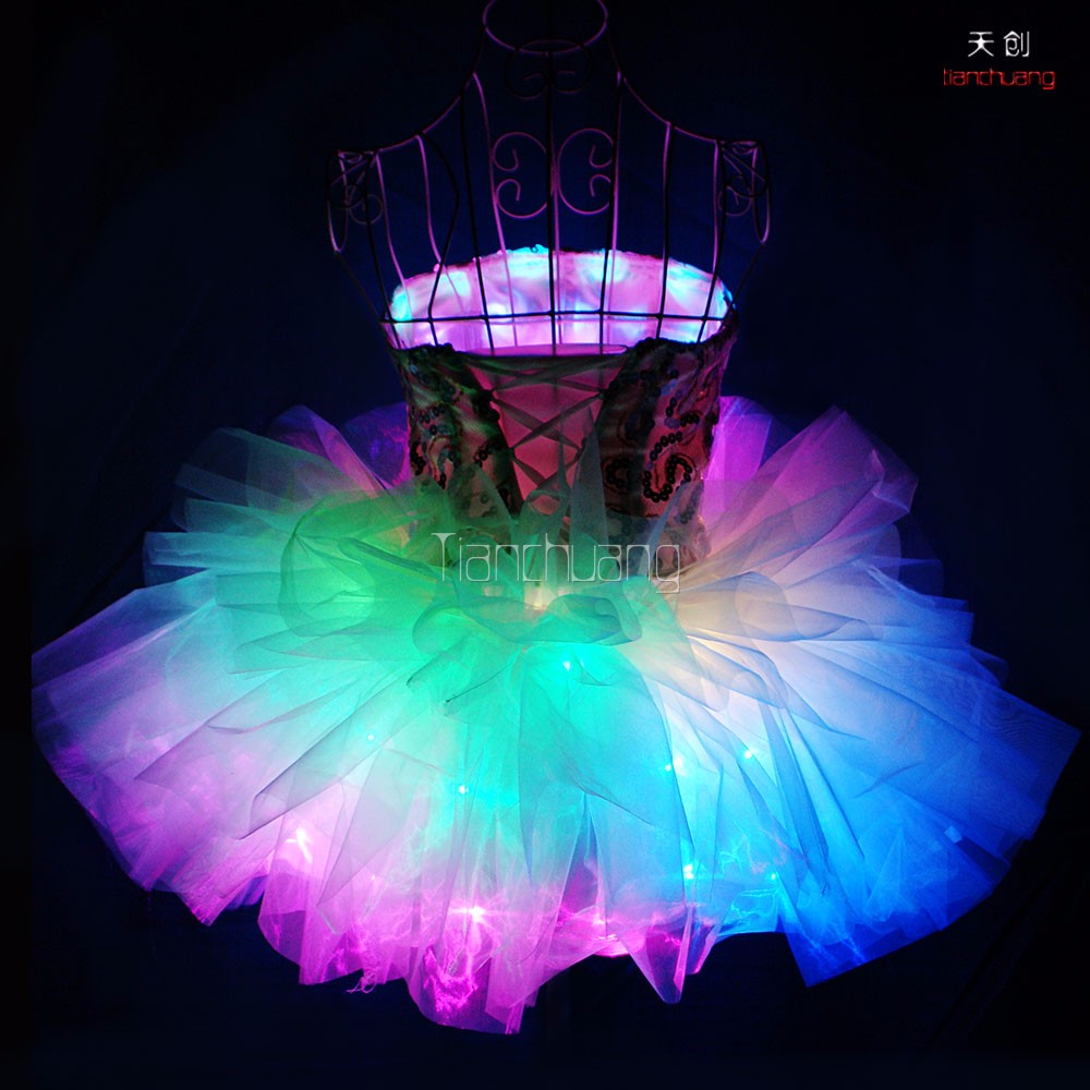 Tube Led Wedding Dress Party Sexy Prom For Girls Kids Princess With Lights: Wedding Dress With Led Lights At Websimilar.org