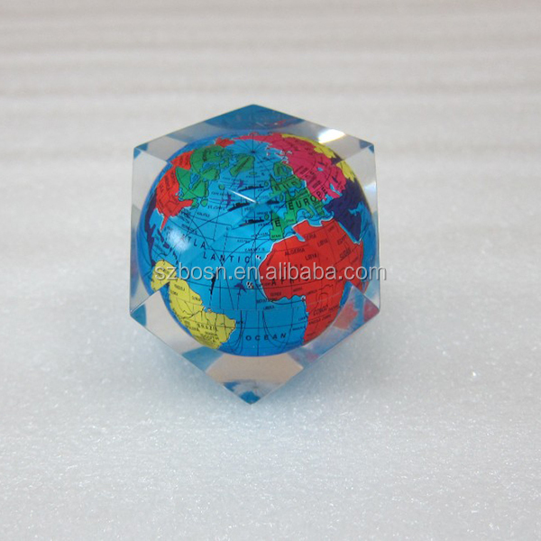 Manufacture Wholesale Lucite Display Crystal Acrylic Paperweight