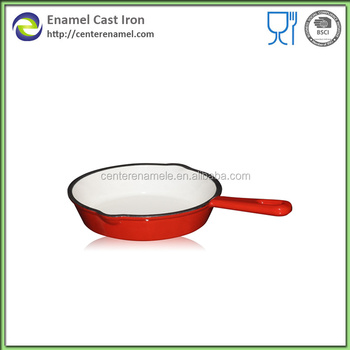 High Quality Enamel Cast Iron Skillet Double Sided Pan