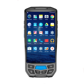 CARIBE 5 zoll android PDA RFID Barcode-scanner mit Thermodrucker