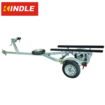 Kindleplate Heavy Duty Jon Boat Trailer With Galvanized Steelframe Buy Buy Ued Medium Inflatable Rc Boat Dolly With Single Axle And Spare Tire China