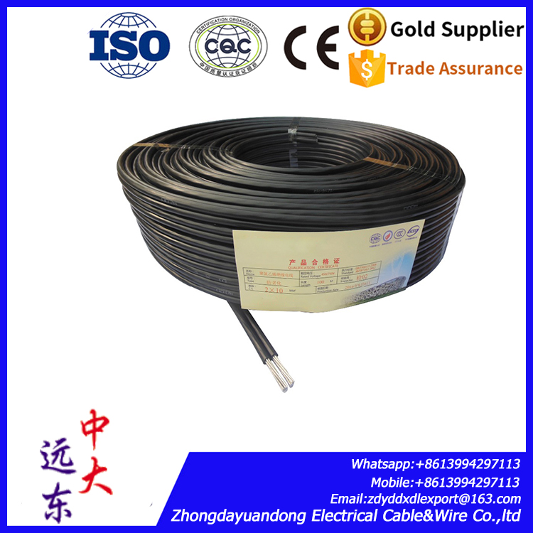 Solid Conductor Insulated Single Core Aluminium Wire Electrical Cable