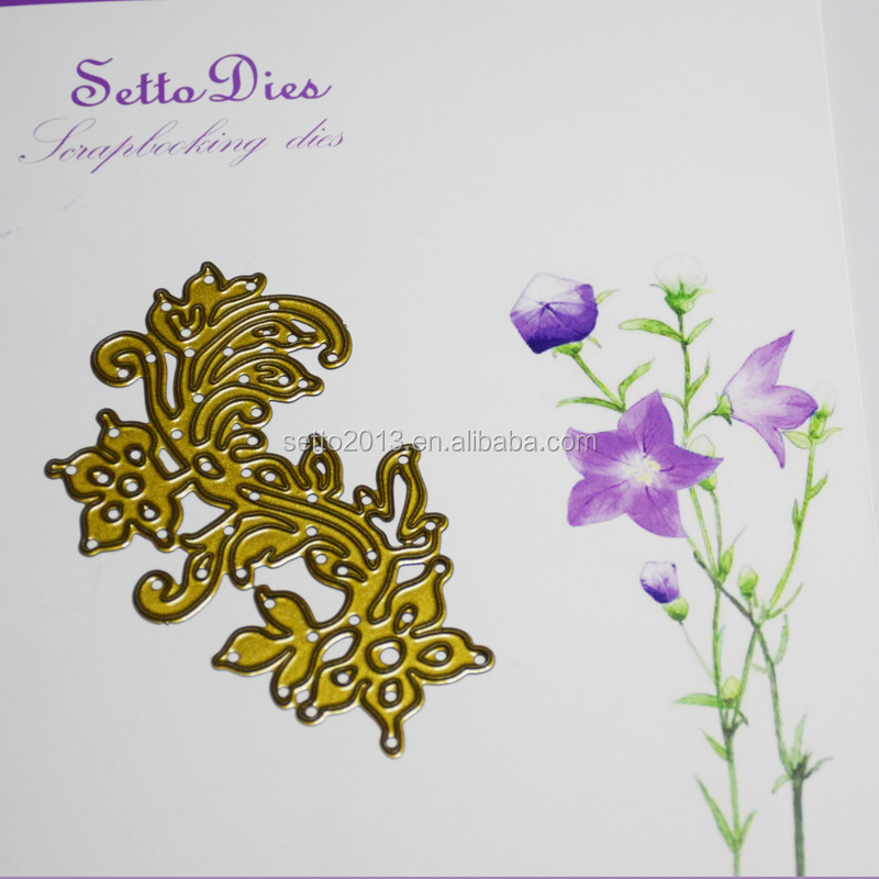 Custom designed dies wedding card making supplies for wholesale