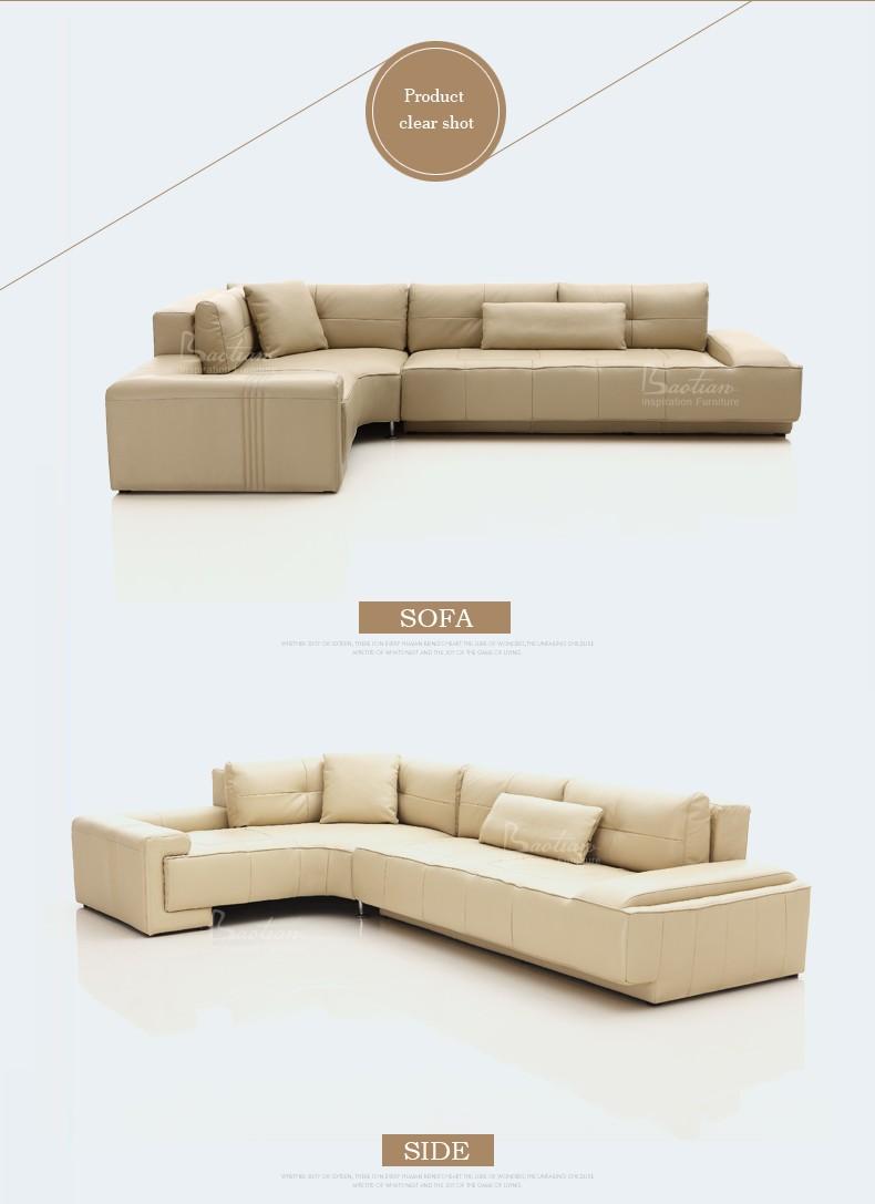 2017 European Style Hot Sell Corner Sofa Design Ethiopian