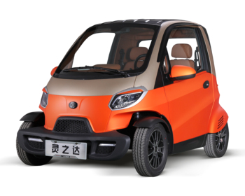 Mini electric car with air condition 2 person with EEC certification Europe