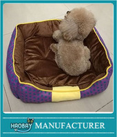 Happy Puppy Pet Puppy Dog Cat Sleeping Bed Cushion Warm House