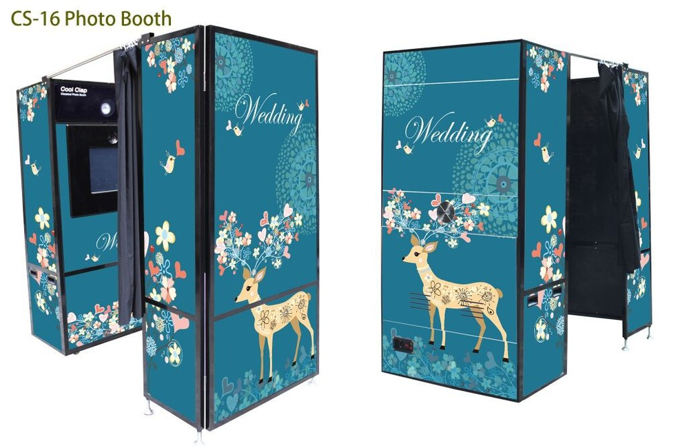Cs-16 Most Popular Photo Booth Cabinet - Buy Photo Booth Cabinet ...