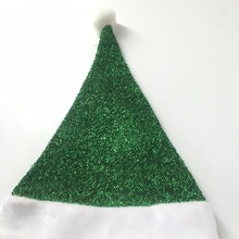 2018 High quality customized infant non-woven/felt/velvet christmas hat