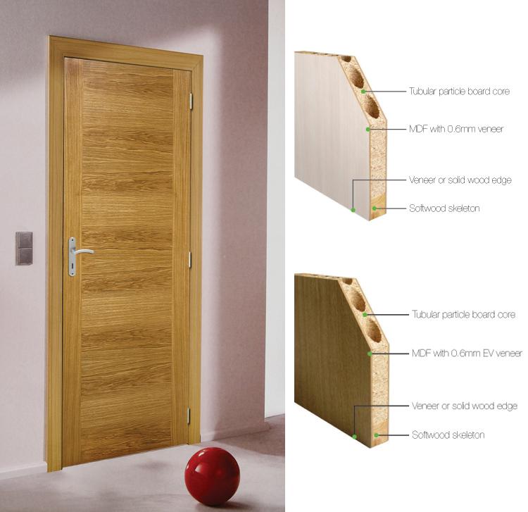 Fashion Design Wood Door Entry Door Rustic Wood