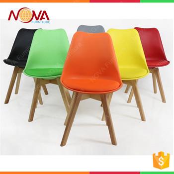 Wohnmöbel Esszimmer Allgemein Billig Gebrauchte Haus Moderne Freizeit  Design Bunte Leder Holz Beine Stühle Für Den Heißen Verkauf - Buy Product  on ...