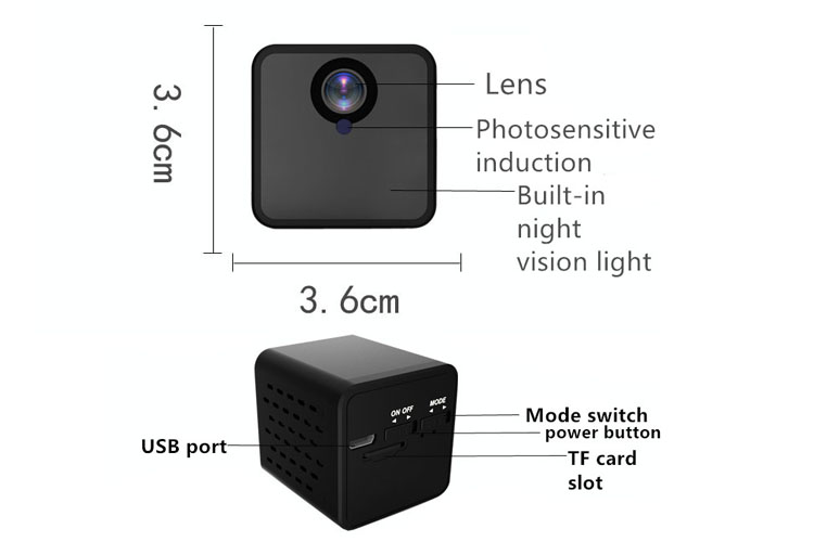 Long waiting for 12 hours 1080p shell cmos sensor night vision original mini camera wifi camera .jpg