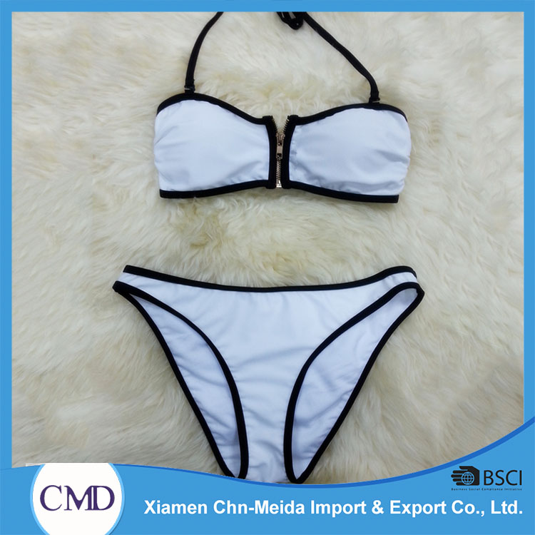 Quick Dry Breathable Gold Supplier China Clothing Manufacturer Neoprene Swimwear Women