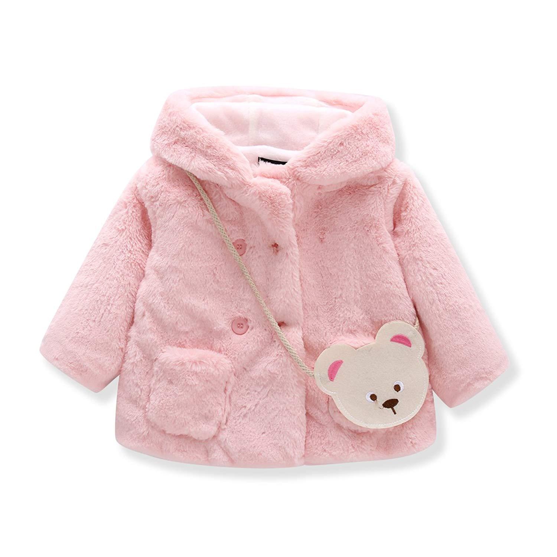 0705d5cbb Cheap Girls Red Fur Coat