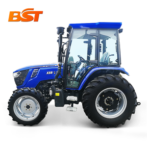 TONLINE china cheap 50hp 60hp 70hp 90hp 4wd used front end loader farm tractor with front loader 80hp 4wd for sale price