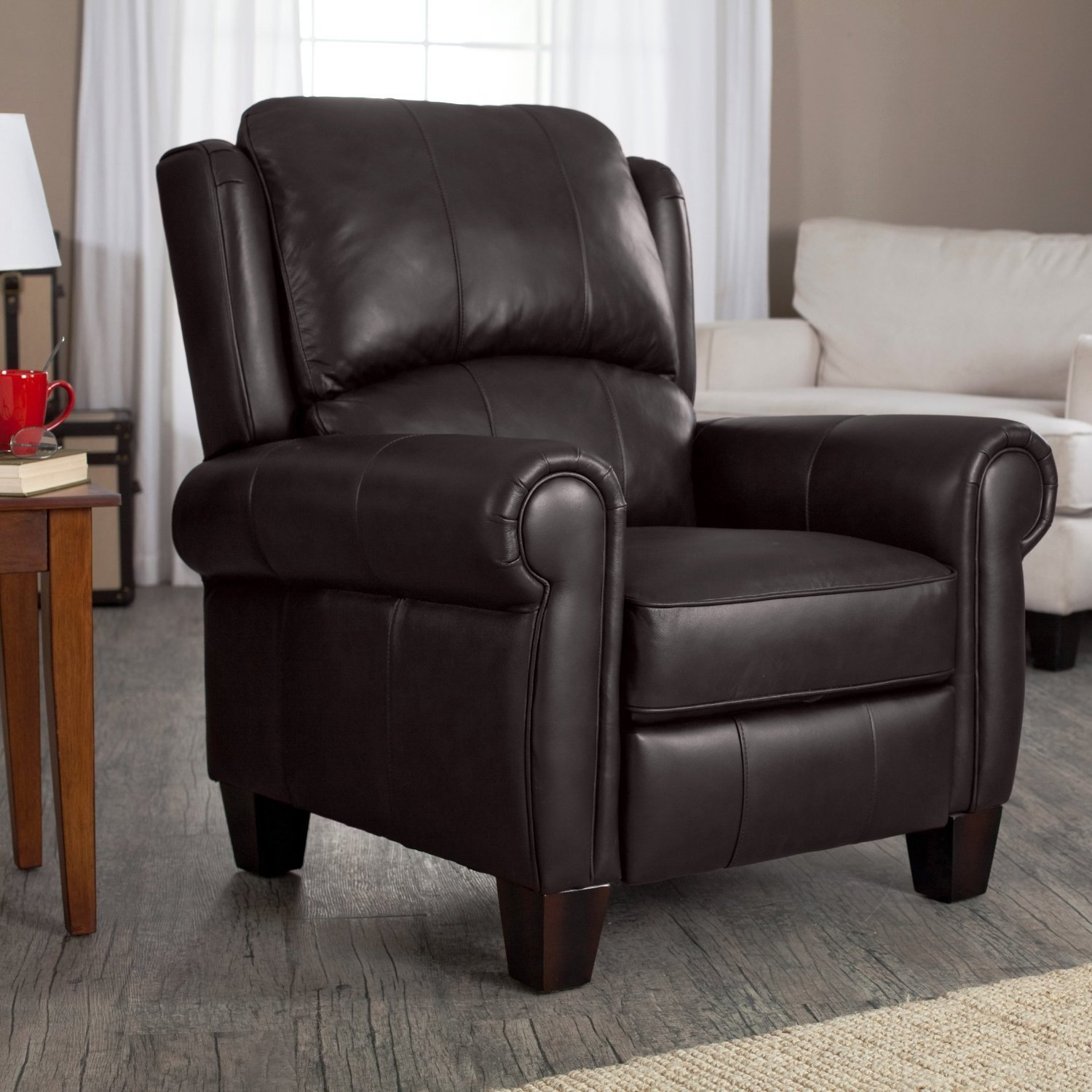 Buy Brown Leather Recliner-Living Room Furniture