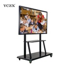 70'' LCD IR 10 points touch screen all in one interactive meeting room smart screen monitor writing whiteboard panel