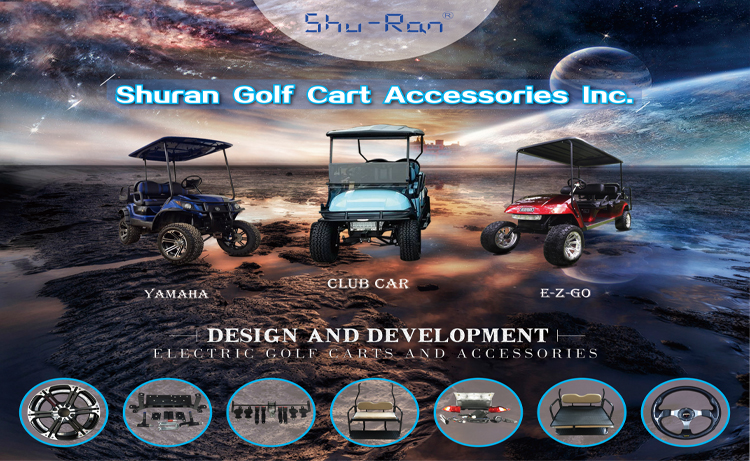 Quality Golf Cart Aluminum Cargo Bed, utility Golf Cart Rear Cargo Box for EZ-GO, Club Car and Yamaha golf cart series