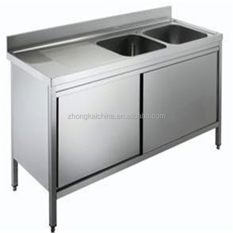 Stainless Steel Kitchen Base Cabinets: Metal Kitchen Sink Base Cabinet/stainless Steel Kitchen