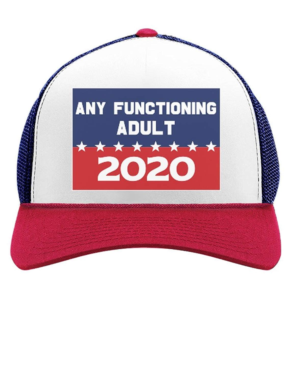 976c9c4ec19 Get Quotations · Tstars Funny 2020 Campaign Trucker Hat Any Functioning  Adult Trucker Hat Mesh Cap