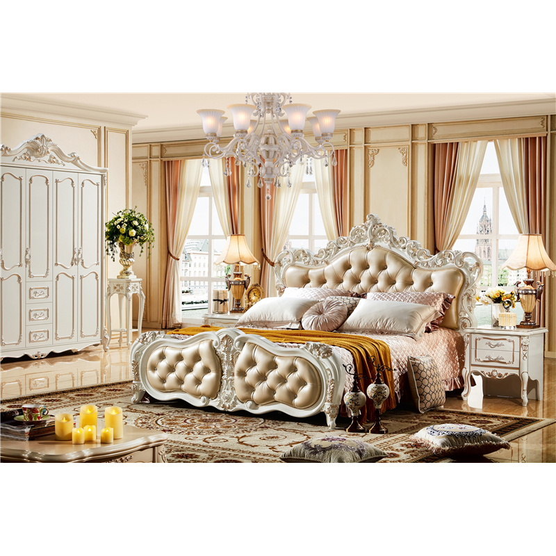 Bedroom Sets.High Quality Italian Royal Furniture Bedroom Sets Luxury King Size