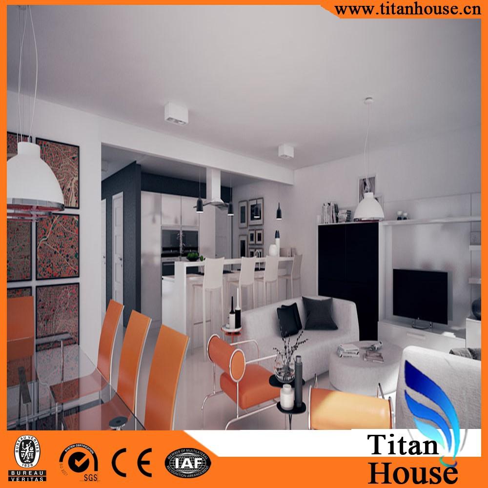 Vijf slaapkamers modern design dunwandige stalen frame ...