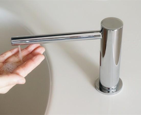 Long Spout Metal Automatic Liquid Soap Dispenser Buy Liquid Soap