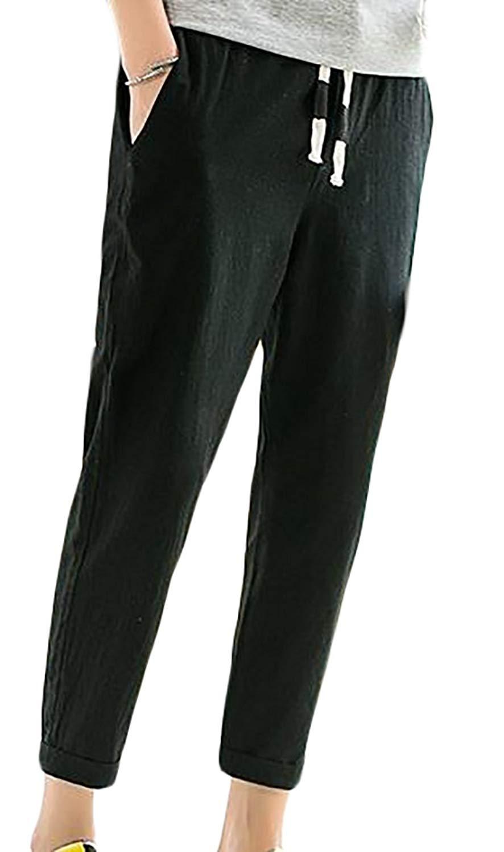 Pandapang Big Boys Sweatpants Elastic Waist Cotton Fashion Athletic Pants