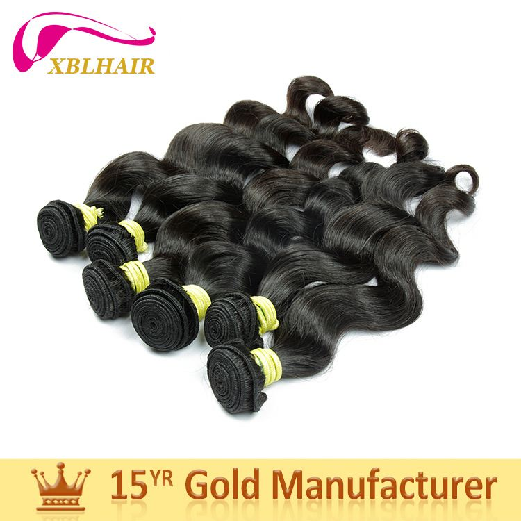 XBL factory various styles non-chemical processed how to start selling brazilian hair