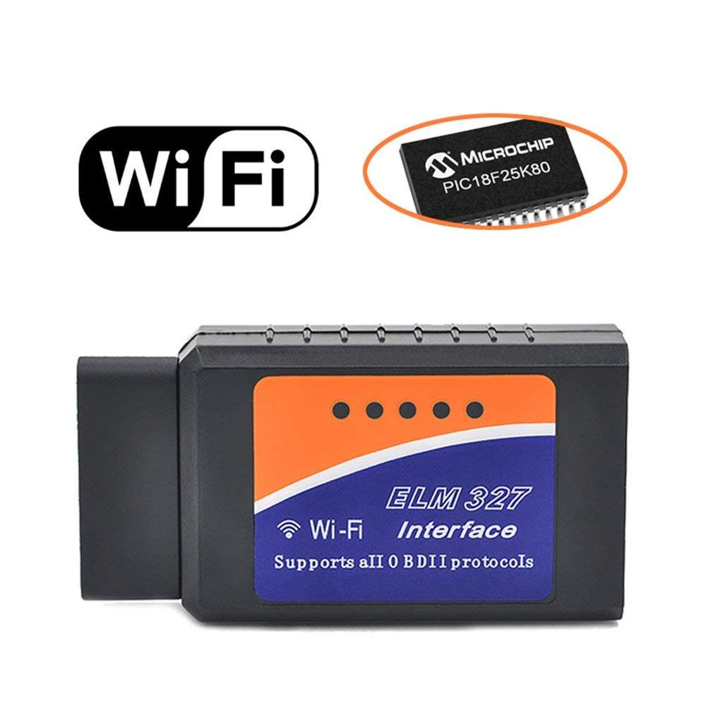 Auto OBD2 Scanner ELM327 WIFI Voertuig Fault Code Reader OBDII Adapter Auto Check Engine Light Clear Wireless Diagnostic Scan Tool