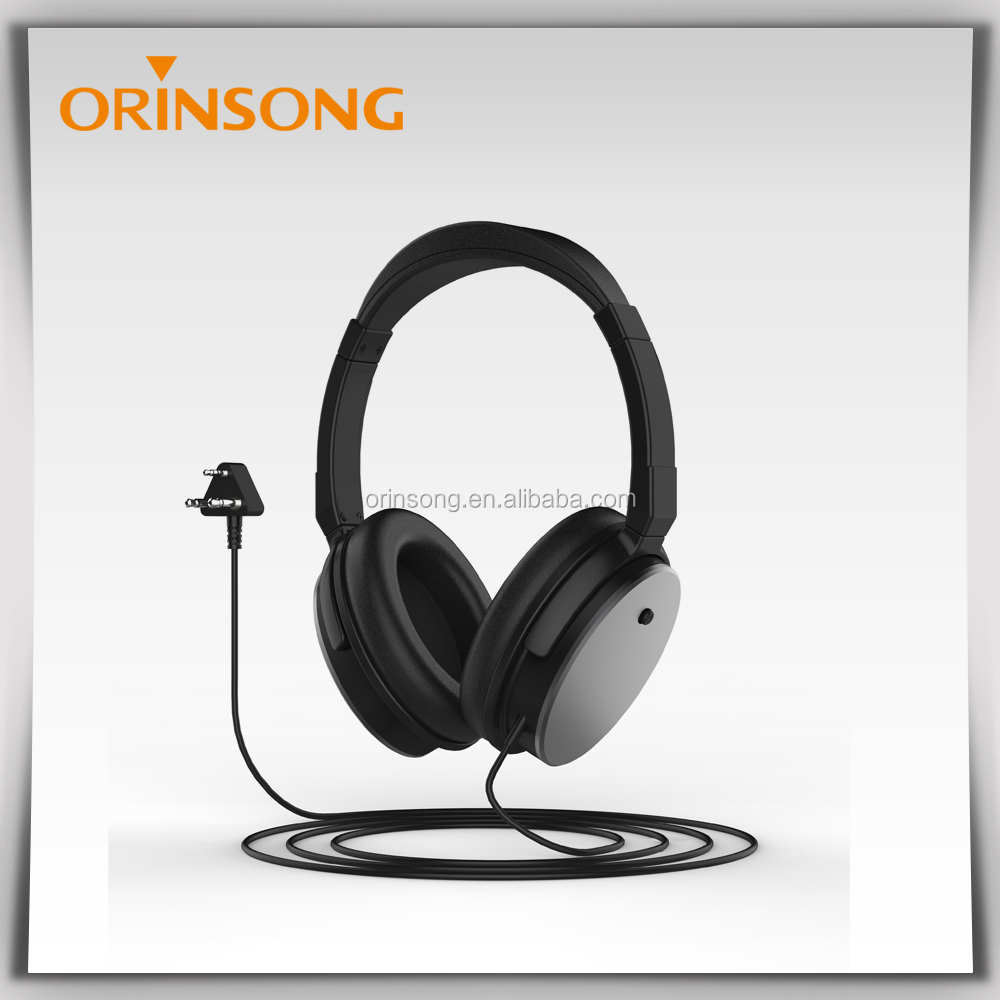 Active Noise Cancelling Headphone With Built In Nc Circuit