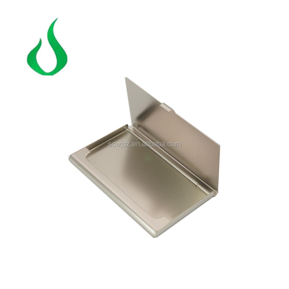 Aluminum Alloy Business Card Case Business Name Metal Card Holder ...